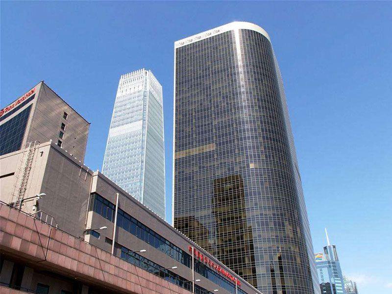 bei京国贸中心安装货wu电梯